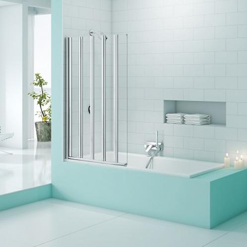 SecureSeal 5 Fold  Bath Screen