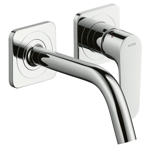 Axor Citterio M Single Lever Wall Mounted Basin Mixer 167mm Spout