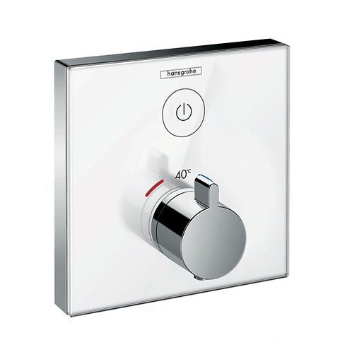 ShowerSelect Glass Thermostat For 1 outlet