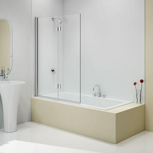 2 Panel Folding Bath Screen