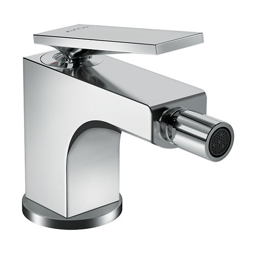 Axor Citterio Single lever bidet mixer with lever handle and pop-up waste set