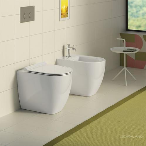 1VPS54R00 Sfera Newflush 54 Back To Wall Toilet