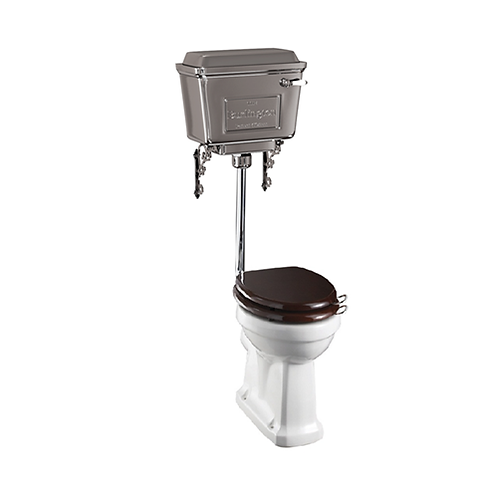 Low Level WC With 440 Lever Chrome Cistern