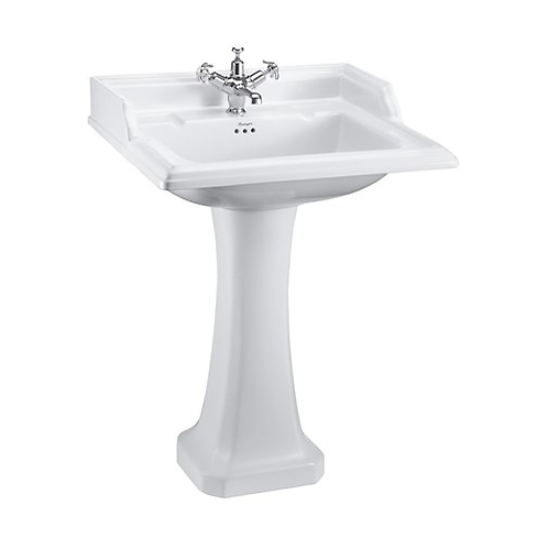 Classic 65cm Basin with Pedestal