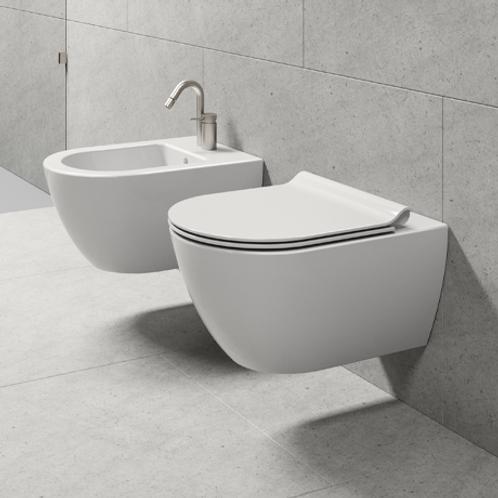 GSI Pura Swirlflush Wall Hung Toilet