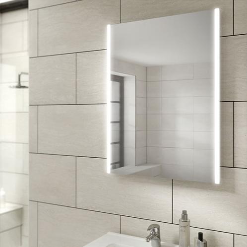 HIB Zircon LED Illuminated Mirror
