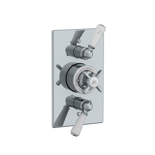 GD8736 Godolphin Dual Concealed Thermostatic Valve
