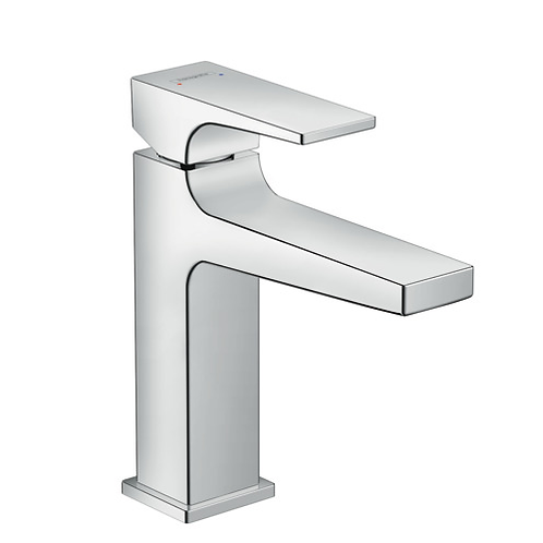 Hansgrohe Metropol Single lever basin mixer 110 with push open waste