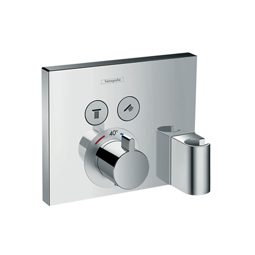 ShowerSelect Thermostat For 2 Outlets With Holder