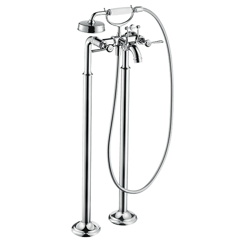 Axor Montreux 2-handle bath mixer floor-standing with lever handles