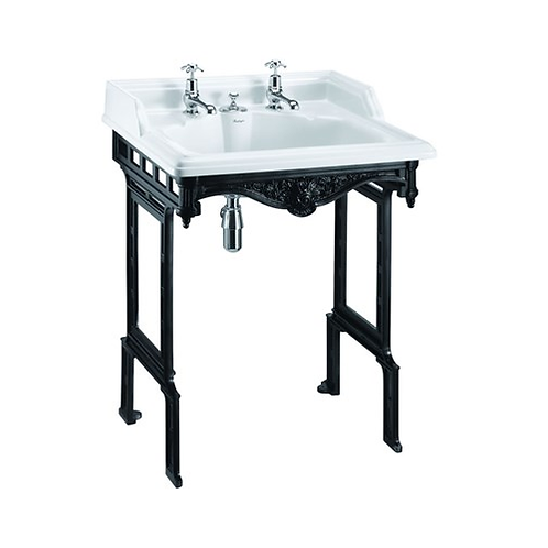 Classic 65cm Basin & Invisible Overflow with Aluminium Stand