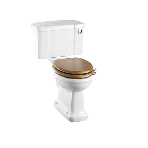 Regal Close Coupled WC With 520 Push Button Cistern