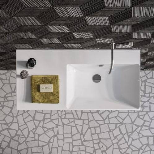 Zero Up 100x50 Washbasin