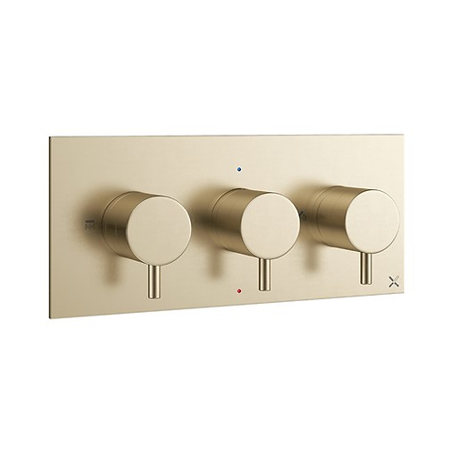 MPRO Two Outlet Thermostatic Shower Valve