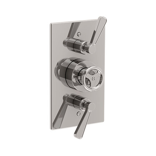 Lefroy Brooks Ten Ten Thermostatic Concealed Dual Outlet Shower Valve