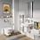 Thumbnail: Kai Straight Towel Warmer 1200 x 500