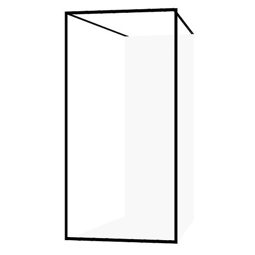 Drench Border Freestanding Fixed Panel