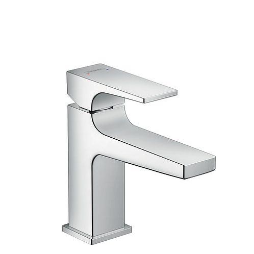 Hansgrohe Metropol Single lever basin mixer 100 with push open waste