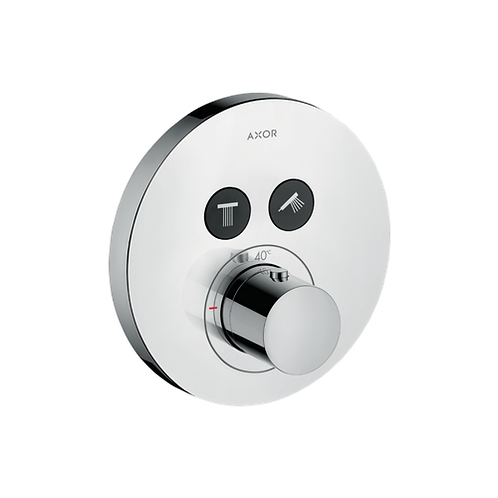 Axor ShowerSelect Valve Round 2 Outlet