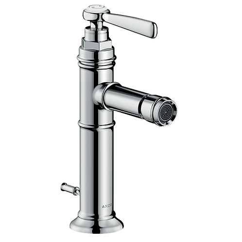Axor Montreux Single lever bidet mixer with lever handle and pop-up waste set