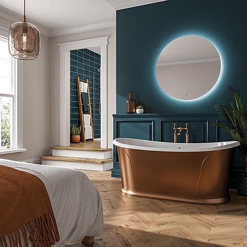 Theme LED Illuminated Mirror