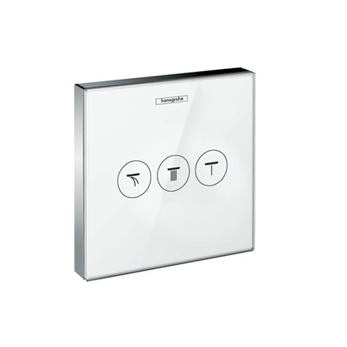 ShowerSelect Glass Thermostat For 3 Outlets