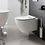 Thumbnail: Svelte White Wall Hung Toilet