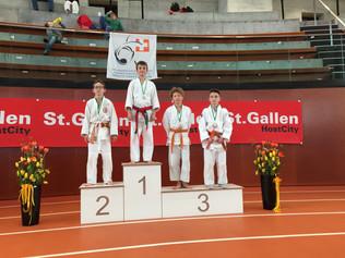8 Medaillen in St. Gallen