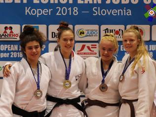 Europacupmedaille für Michèle Johner