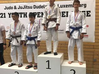 Silber für Liam Gfeller in Luxemburg