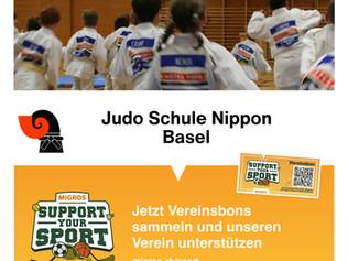 Support your Sport – Unterstütze die Judo Schule Nippon Basel