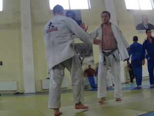 Judoka aus Basel trainieren in Georgien