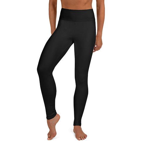 Premium Yoga Leggins mit Stripe-Print
