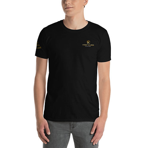 Premium Shirt UNISEX mit Schriftzug und Logo-Print