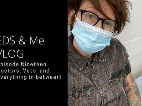 EDS & Me VLOG - Episode Nineteen: Doctors, Vets, and everything inbetween!