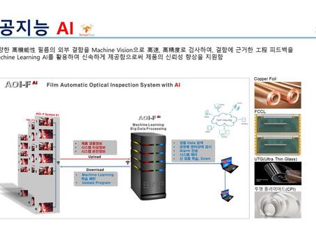 WINTEC 인공지능 장비 소개 - 기능성 필름검사장비