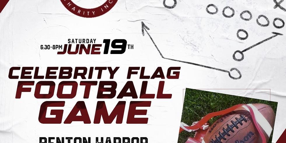 CELEBRITY FLAG FOOTBALL GAME