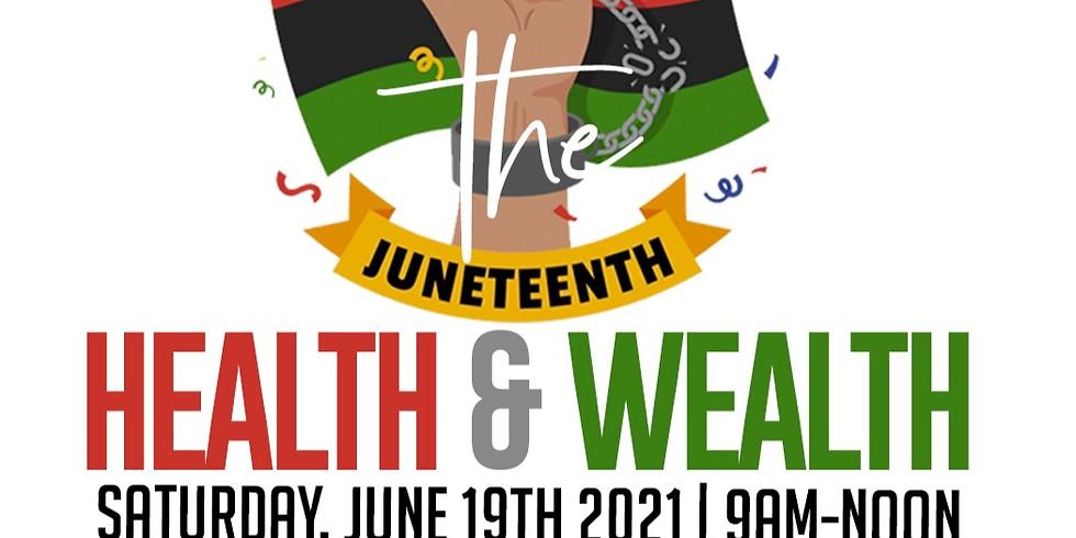 Juneteeth Health & Wealth Event