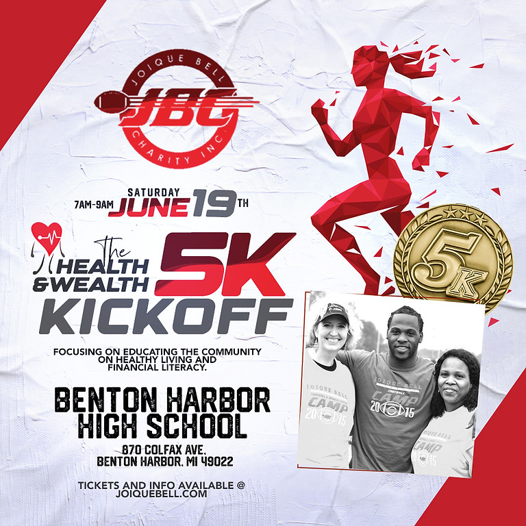HEALTH & WEALTH 5K KICKOFF