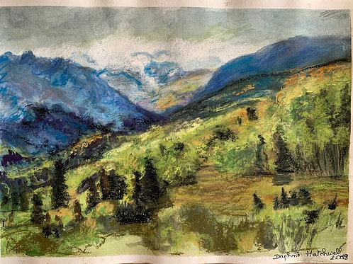 montagnes et fraicheur