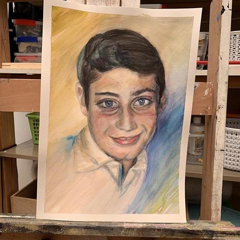 Portrait d'enfant manque qq finitions a