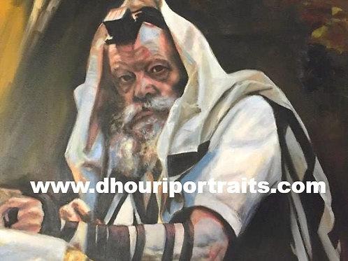 Tefilines; Rabbi de Loubavitch