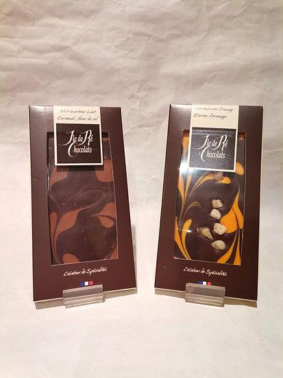 Tablettes Chocolats Ile de Ré