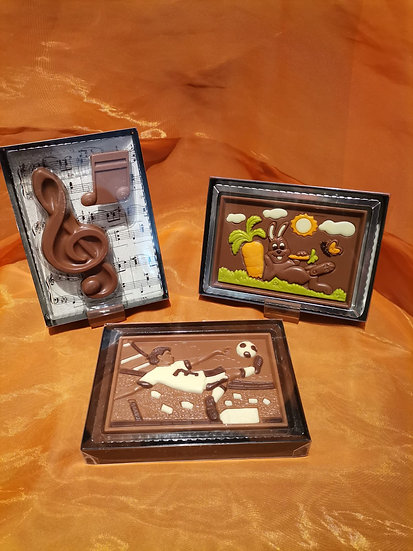 Plaque de Chocolat à thème