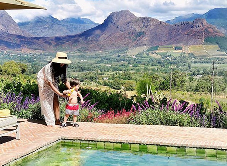 Our Dreamy Break in Franschhoek:  A Luxurious Family Stay at La Petite Ferme