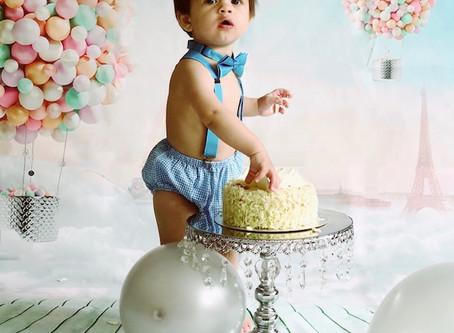 Creating Baby's First Birthday Cake Smash DIY:  A 10 Step DIY Guide