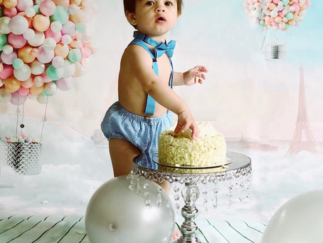 Creating Baby's First Birthday Cake Smash DIY:  A 10 Step DIY Guide