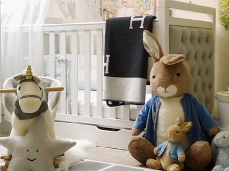 How to Style a Classy Peter Rabbit or Beatrix Potter Themed Nursery