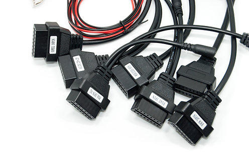 8 Pieces Full Set DS150 Car Diagnostic Cables Set