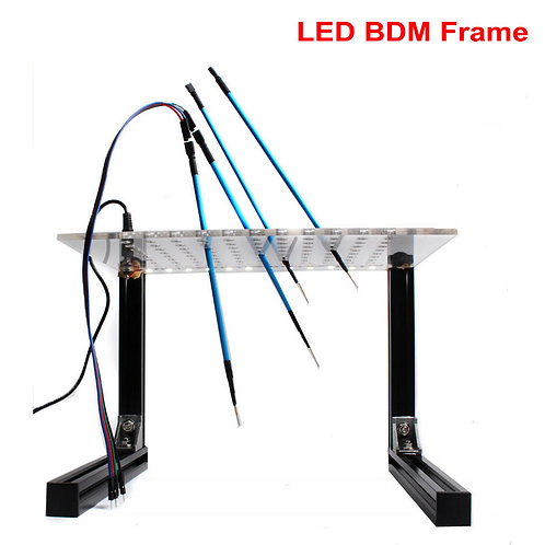LED BDM Frame for ECU Programming. KESS Ktag FGtech